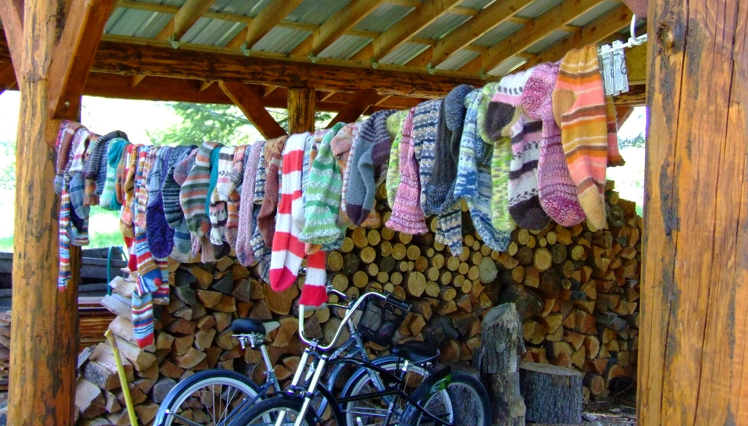 Sock Prayer Flags  | Knitting Iris - Flickr