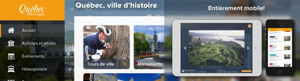 Nouveau site pour l'Office du tourisme de Québec