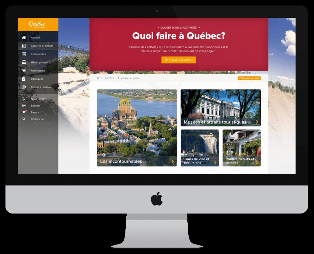 Nouveau site Web OTQ